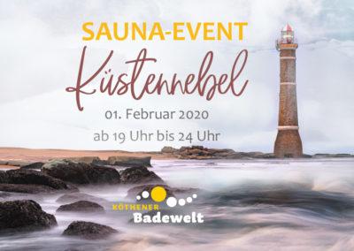 """01.02.2020 – Sauna-Event """"Küstennebel"""""""